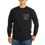 Weight bitch-slap Long Sleeve Dark T-Shirt