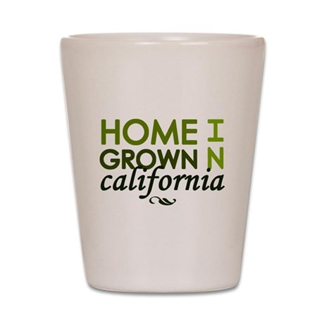 'California' Shot Glass