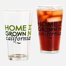 'California' Drinking Glass