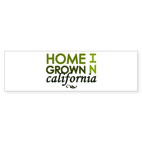 'California' Sticker (Bumper)