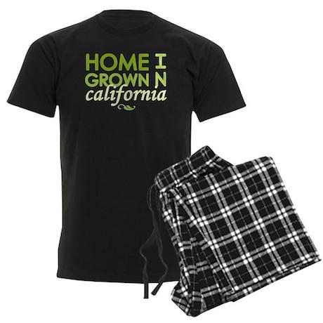 'California' Men's Dark Pajamas