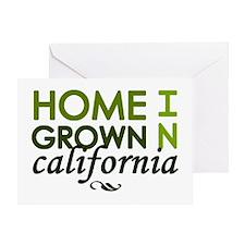 'California' Greeting Card