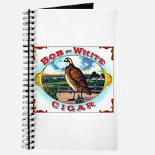 Bob White Cigar Label Journal