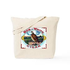 Bob White Cigar Label Tote Bag