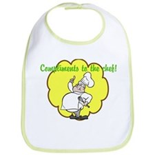 """""""Compliments to the chef!"""" Bib"""
