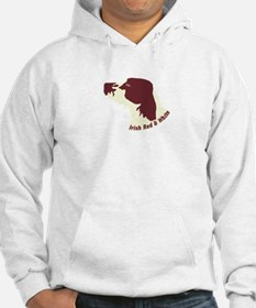 Irish Red & White Setter Hoodie