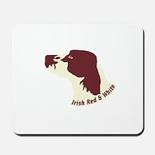 Irish Red & White Setter Mousepad