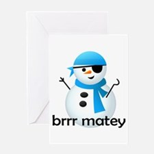 Brrr Matey! Greeting Card