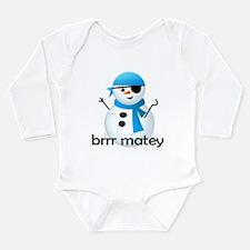 Brrr Matey! Long Sleeve Infant Bodysuit