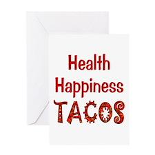 Taco Happiness Greeting Card