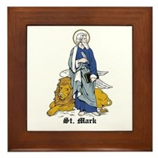 St. Mark Framed Tile