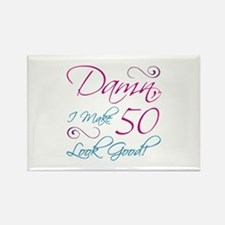 50th Birthday Humor Rectangle Magnet (10 pack)
