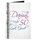 50th birthday for women Journals & Spiral Notebooks