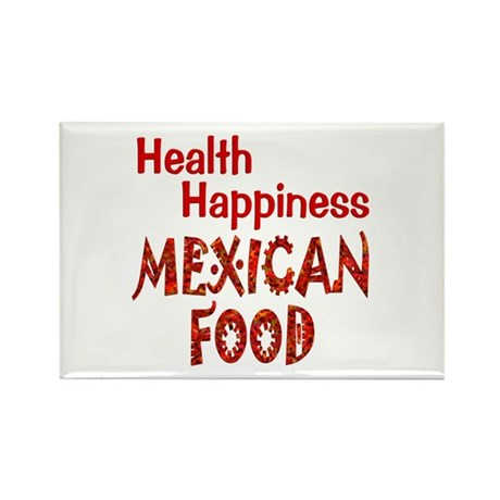 Mexican Food Rectangle Magnet