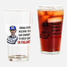 SPEND SPEND SPEND Drinking Glass