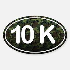 10K *camo* Sticker (Oval)