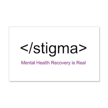 End Stigma HTML 20x12 Wall Decal
