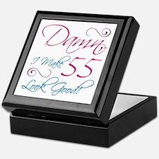 55th Birthday Humor Keepsake Box