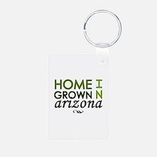 'Home Grown In Arizona' Keychains