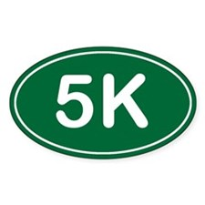 5K *green* Decal