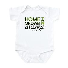'Home Grown In Alaska' Infant Bodysuit