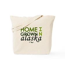 'Home Grown In Alaska' Tote Bag