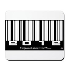 2012 Bar Code Mousepad