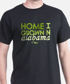 'Home Grown In Alabama' T-Shirt