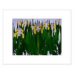 Iris Painting Small Poster