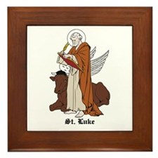 St. Luke Framed Tile