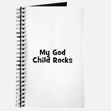 My God Child Rocks Journal