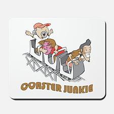 Roller Coaster Junkie Mousepad