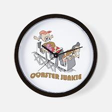 Roller Coaster Junkie Wall Clock