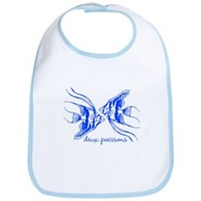 Two Fish (blue) Bib