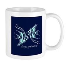 Two Fish (turquoise) Mug
