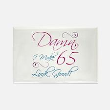 65th Birthday Humor Rectangle Magnet