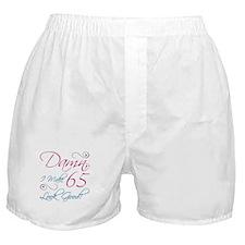 65th Birthday Humor Boxer Shorts