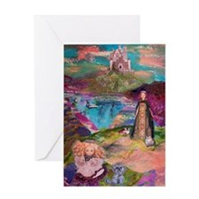 Two Wandering Princesses Greeting Cards