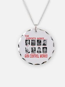 Gun Control Works Necklace