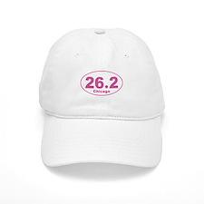 26.2 Chicago Marathon pink Baseball Cap