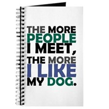 'The More People I Meet...' Journal