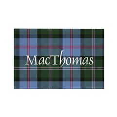 Tartan - MacThomas Rectangle Magnet