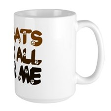 'Walk All Over Me' Mug