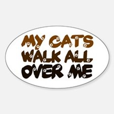 'Walk All Over Me' Decal