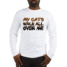 'Walk All Over Me' Long Sleeve T-Shirt