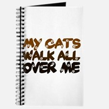 'Walk All Over Me' Journal