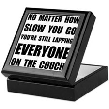 Lapping The Couch Keepsake Box