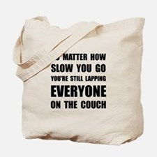 Lapping The Couch Tote Bag