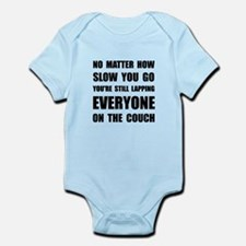 Lapping The Couch Infant Bodysuit