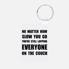 Lapping The Couch Keychains